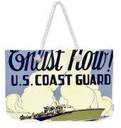 Recruiting Poster - Ww2 - Coast Guard Weekender Tote Bag