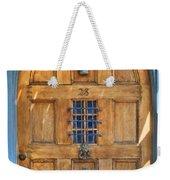 Rectory Door Weekender Tote Bag