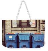 Recycled Boston Weekender Tote Bag