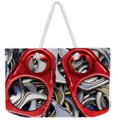 Recycled Love Weekender Tote Bag