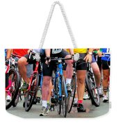 Recycling Knees Weekender Tote Bag