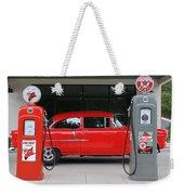 Red 55 Weekender Tote Bag