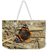 Red Admiral Weekender Tote Bag