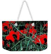 Red An Black Poppies 1 Weekender Tote Bag