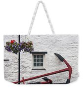 Red Anchors Weekender Tote Bag