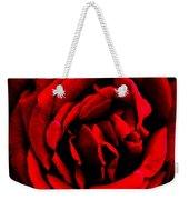 Red And Black Layers Weekender Tote Bag