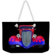 Red And Blue Custom Weekender Tote Bag