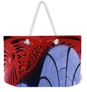 Red And Blue Fantasy Weekender Tote Bag