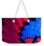 Red And Blue Pattern Weekender Tote Bag