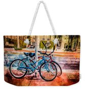 Red And Blue Rides Weekender Tote Bag