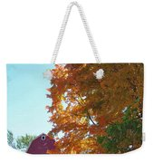 Red And Gold And Blue Weekender Tote Bag