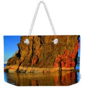 Red And Gold In The Sea Weekender Tote Bag