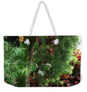 Red And Green Foliage Weekender Tote Bag
