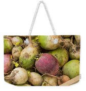 Red And Green Radishes Weekender Tote Bag