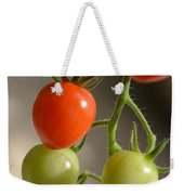 Red And Green Tomatoes Weekender Tote Bag