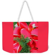 Red And Greens Weekender Tote Bag