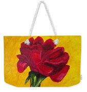 Red And Small Weekender Tote Bag
