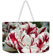 Red And White 6393 Weekender Tote Bag