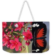 Red And White Longwing Butterflies  Weekender Tote Bag