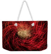 Red And White Weekender Tote Bag