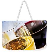 Red And White Wine Weekender Tote Bag