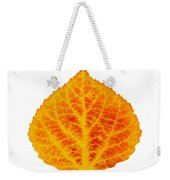 Red And Yellow Aspen Leaf 6 Weekender Tote Bag