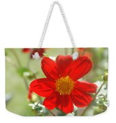 Red And Yellow Beauty Weekender Tote Bag