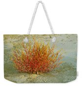 Red And Yellow Desert Color Weekender Tote Bag