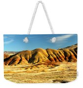 Red And Yellow Painted Hills Weekender Tote Bag