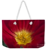 Red And Yellow Poppy 1 Weekender Tote Bag