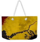 Red And Yellow Weekender Tote Bag