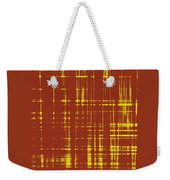 Red And Yellow Wave No 1 Weekender Tote Bag