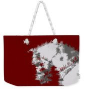 Red Andalusian Weekender Tote Bag