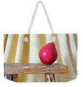 Red Anjou Pear Weekender Tote Bag