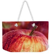 Red Apple Weekender Tote Bag