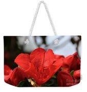 Red April Weekender Tote Bag
