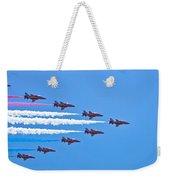 Red Arrows 1 Weekender Tote Bag