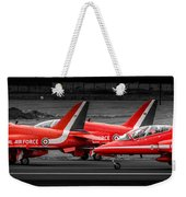 Red Arrows Threesome Take-off Weekender Tote Bag