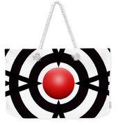 Red Ball 6 Panoramic Weekender Tote Bag