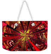 Red Ball 9 Enter The Sun Weekender Tote Bag
