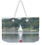 Red Ball Sailing Weekender Tote Bag