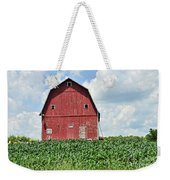 Red Barn And New Corn Weekender Tote Bag