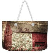 Red Barn Enhanced Weekender Tote Bag