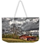 Red Barn On The Boswell Farm Weekender Tote Bag