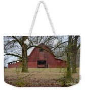 Red Barn Series Picture A Weekender Tote Bag