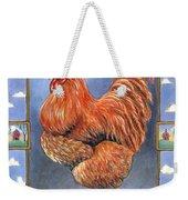 Red Baron Rooster Weekender Tote Bag