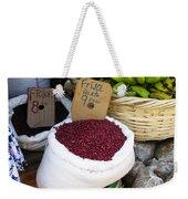 Red Beans At Nicaragua Market Weekender Tote Bag
