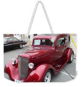 Red Beauty Weekender Tote Bag