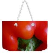 Red Bell Pepper Weekender Tote Bag