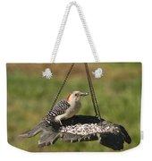 Red Bellied Woodpecker - Melanerpes Carolinus Weekender Tote Bag